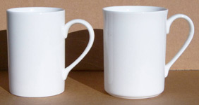Create your own design on this English bone china beaker in our design shop
