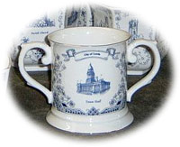 Have any design like a blue and white fish pot planter or antique bone china collectible english